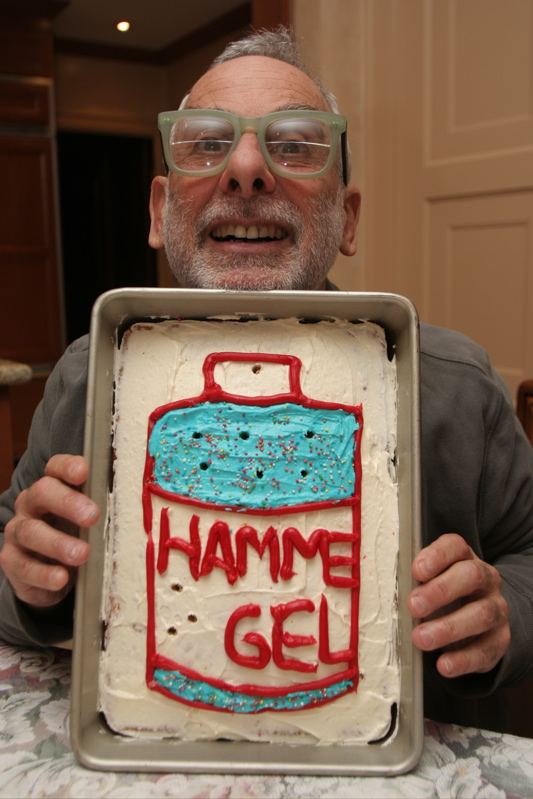Hammer Gel Birthday Cake