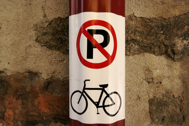 No Bike Parking
