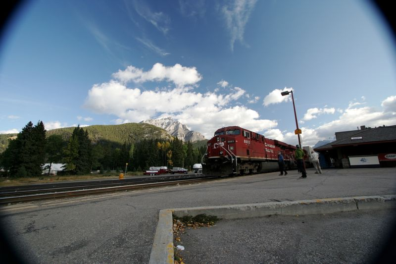 Banff Station Freight