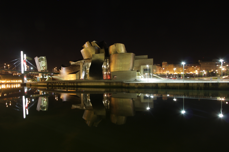 Guggenheim Bilbao at Night