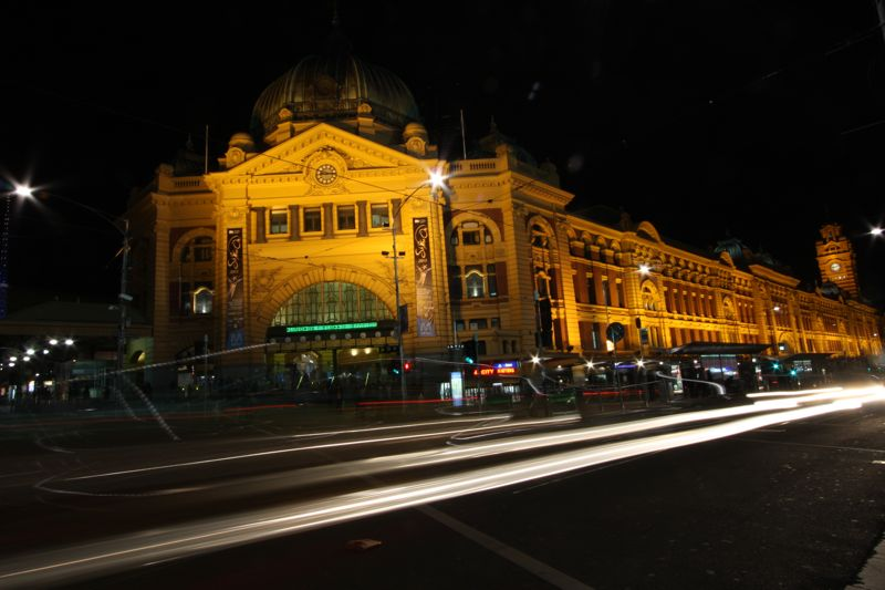 Flinders Station Traffic