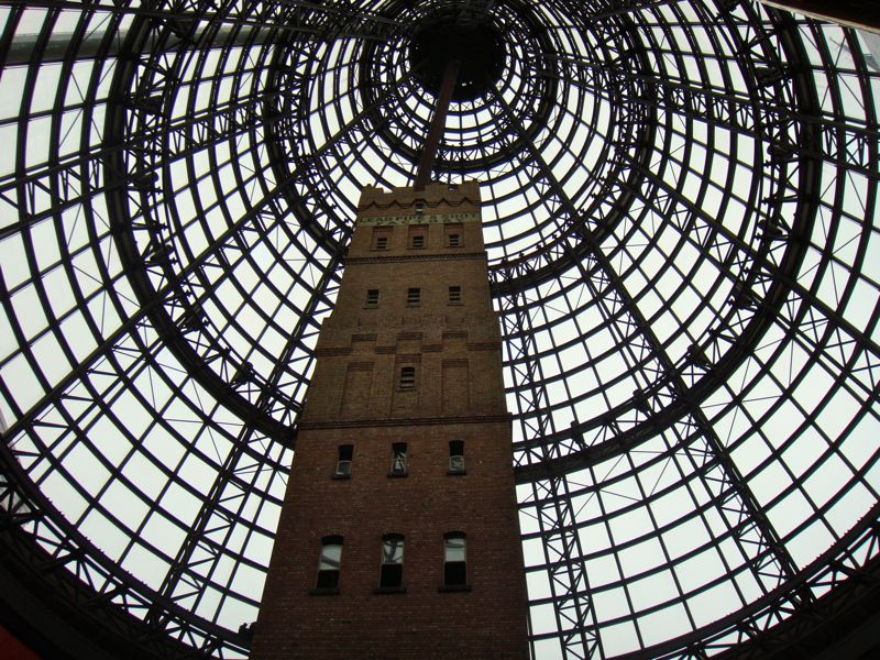 Melbourne Central Looking Up